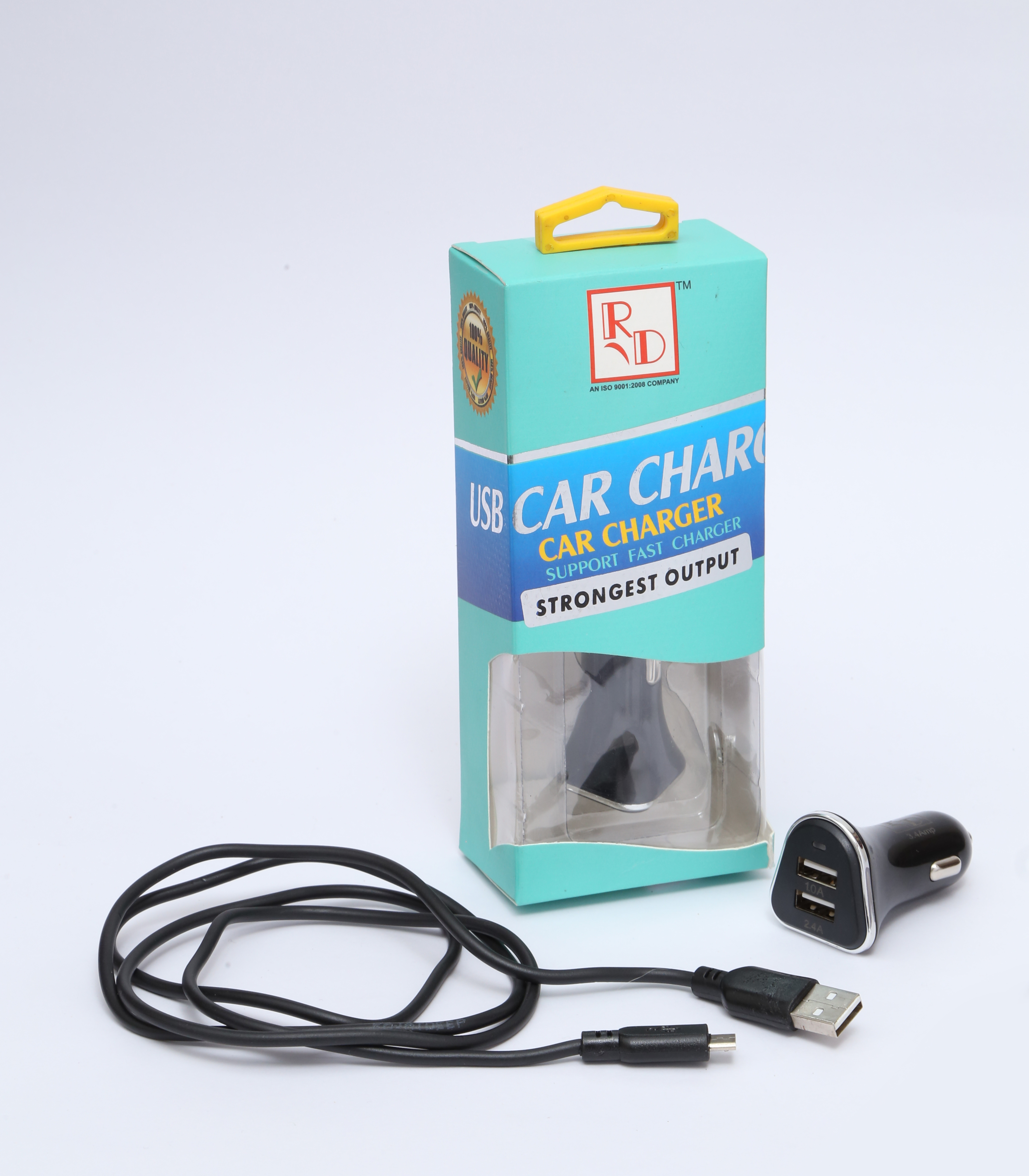 Car Charger Rd Mc 10 With Charging Cable Rd Overseas